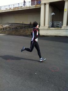 Sprint finish!