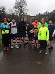 The happy finishers! Photo credit: Elaine Holdsworth