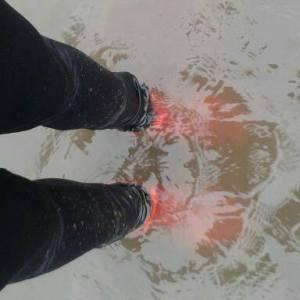 Webbed feet? Photo credit: Deborah Stevenson
