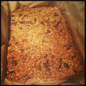 'Go Faster' flapjack!