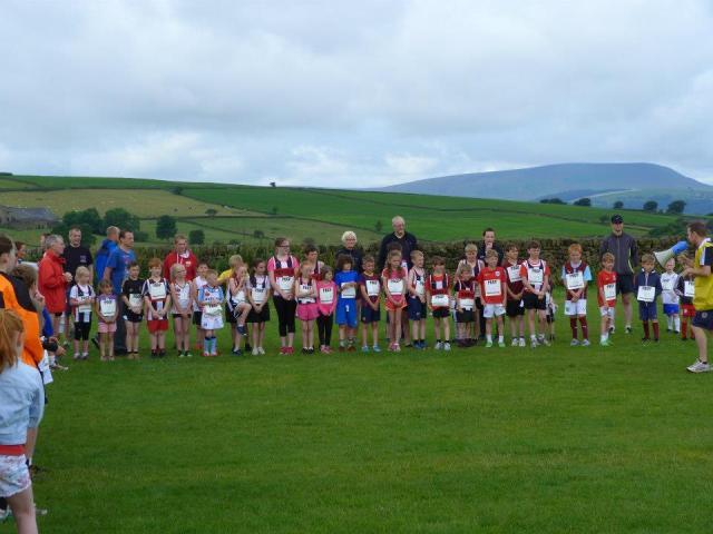 The junior start line (Photo credit: Jill Maxfield)
