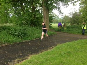 A pootle around the park (photo credit: Pendle parkrun)